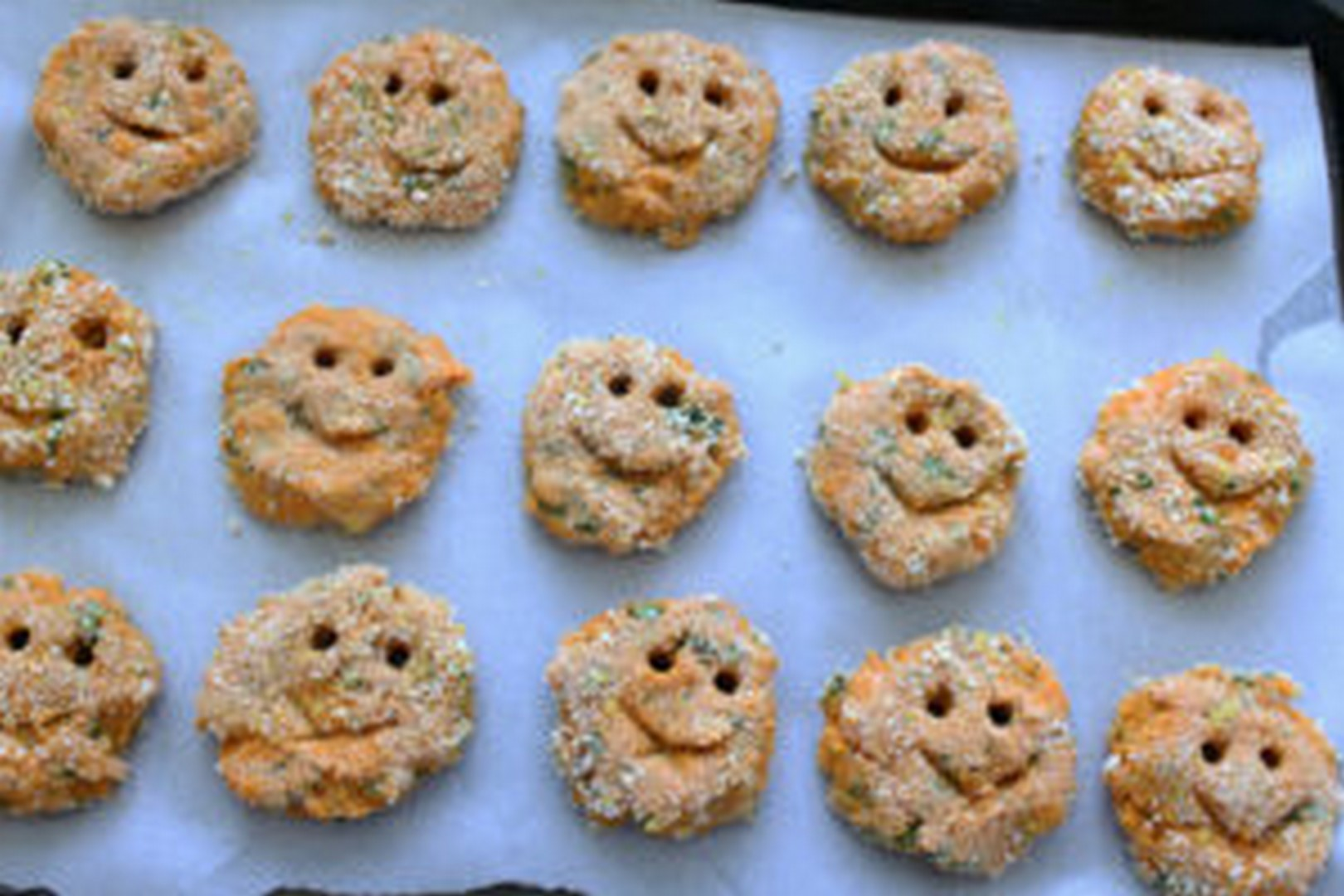 sweet potato smiley fries