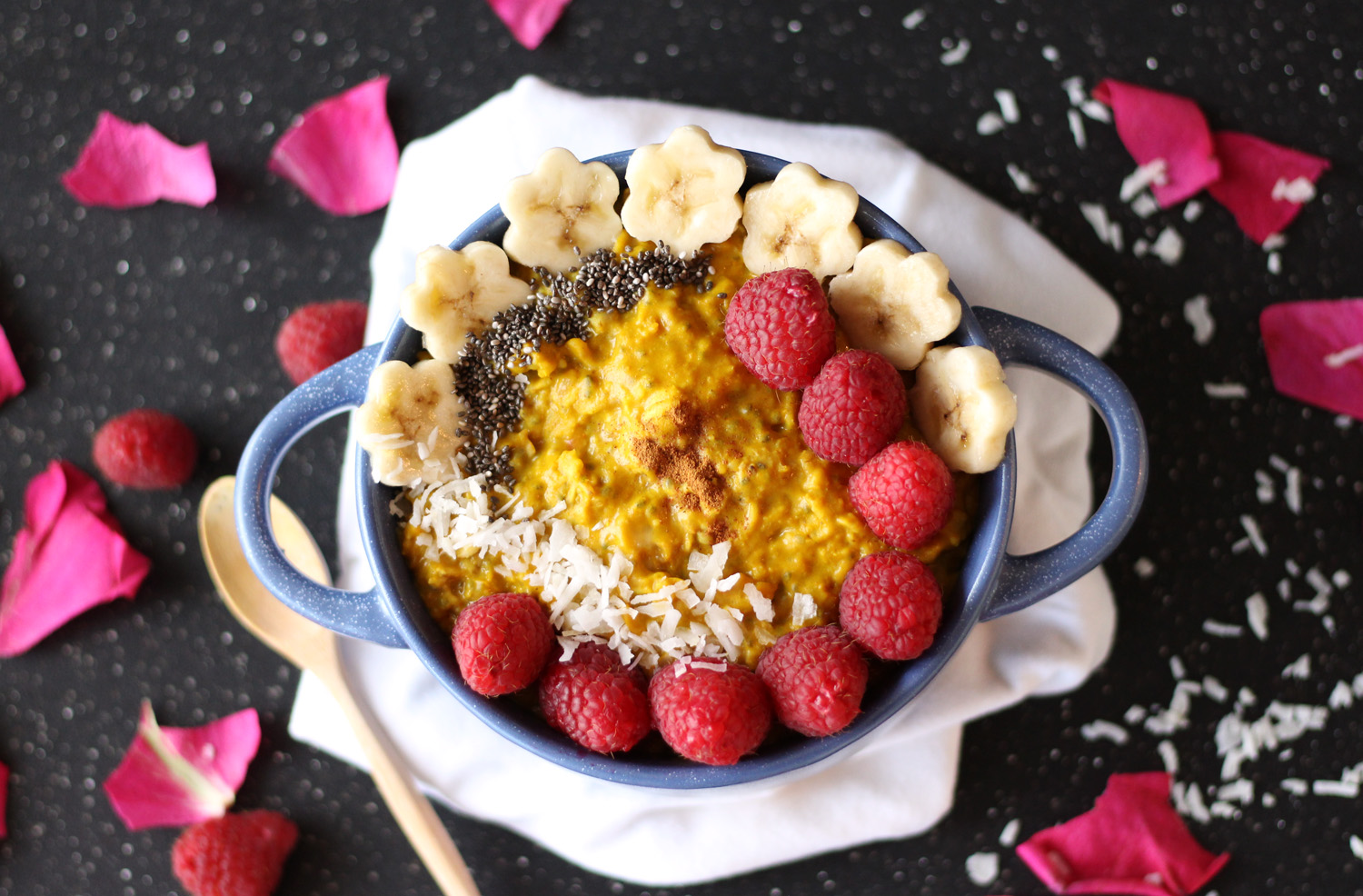 Glowing Golden Turmeric Oatmeal