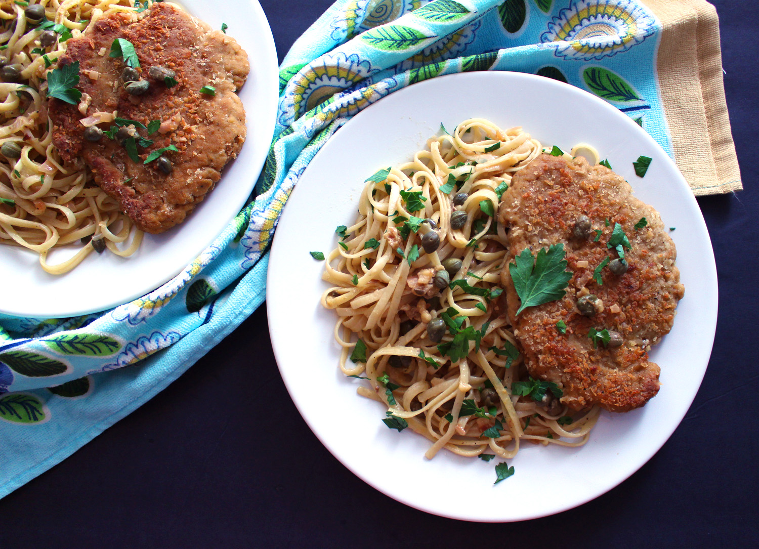 Unbelievable Vegan Chicken Piccata (Seitan)
