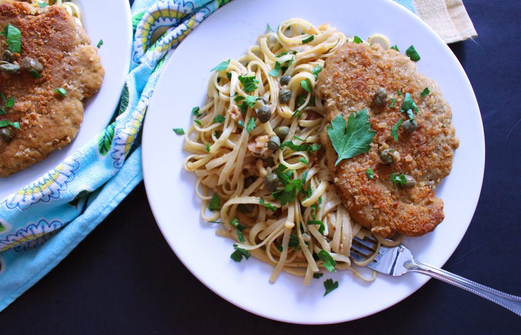 Unbelievable vegan chicken piccata seitan zena n zaatar vegan chicken piccata seitan vegetarian pasta italian linguine spaghetti recipes food blog zenanzaatar fried breaded caper forumfinder Choice Image