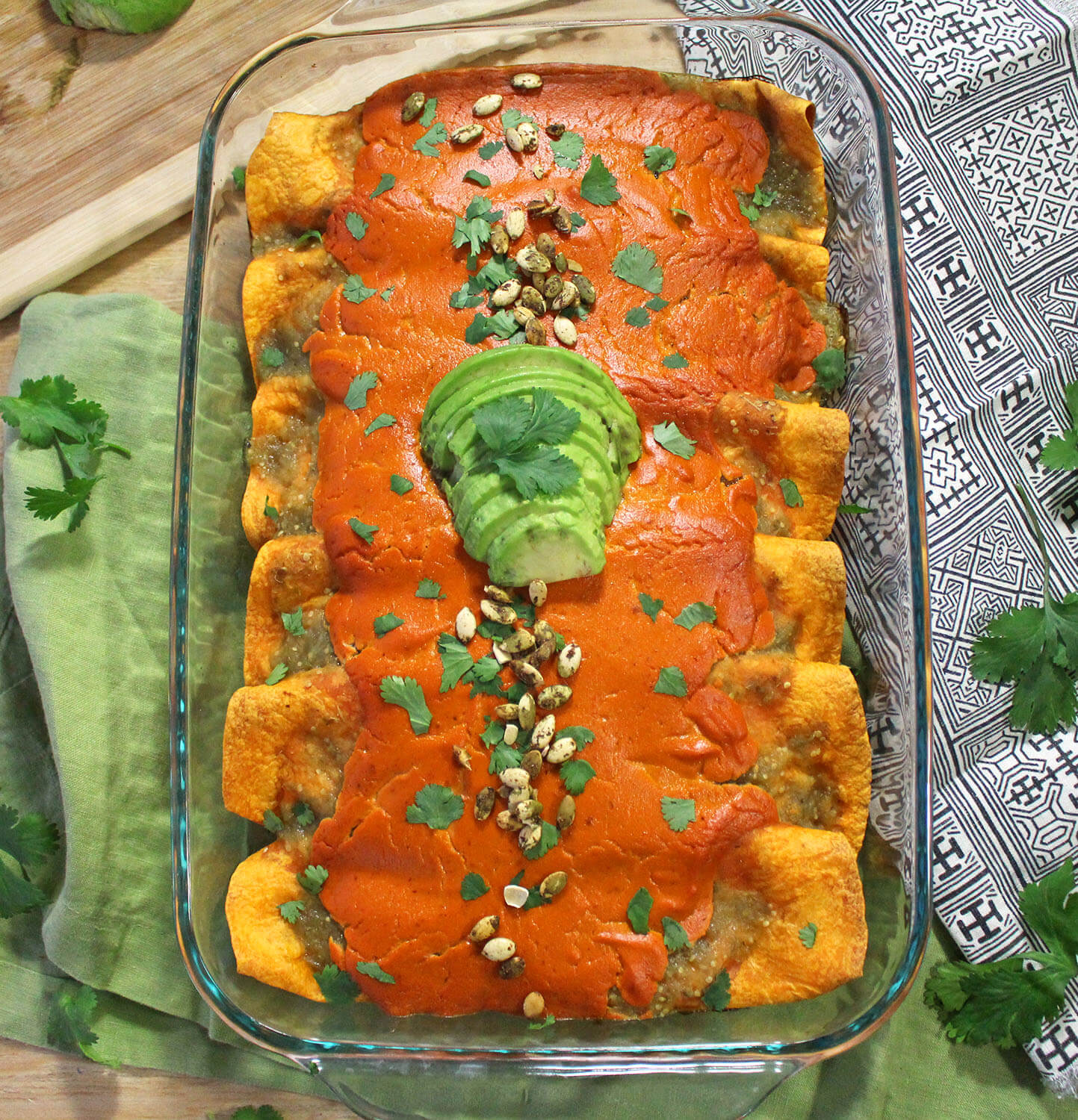 black bean enchiladas vegan sweet potato chipotle cashew cheese vegetarian red pepper burrito zenanzaatar zena 'n zaatar enchilada mexican food blog easy recipe