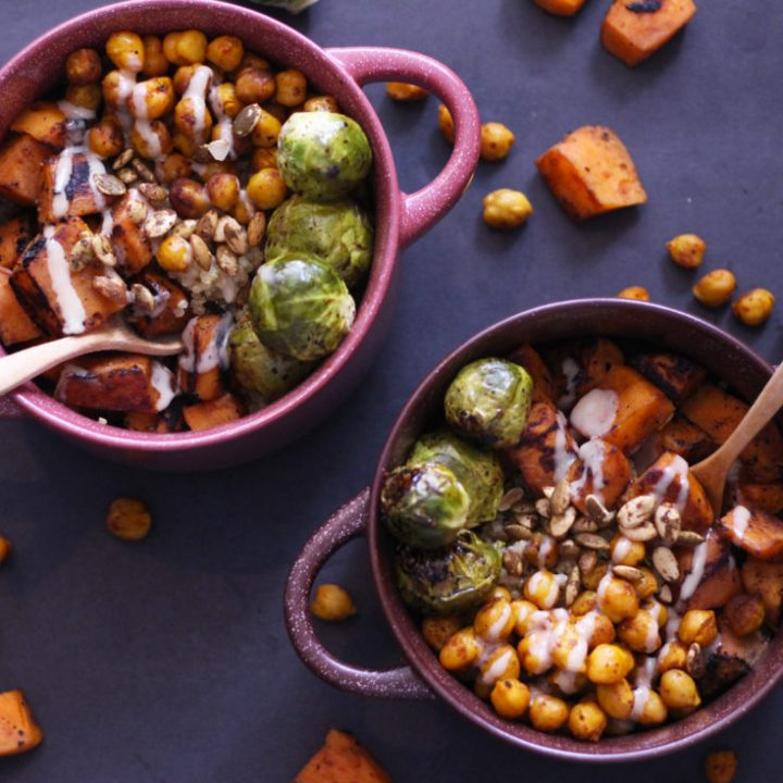 Wonderful Winter Veggie Bowls (Vegan, GF)