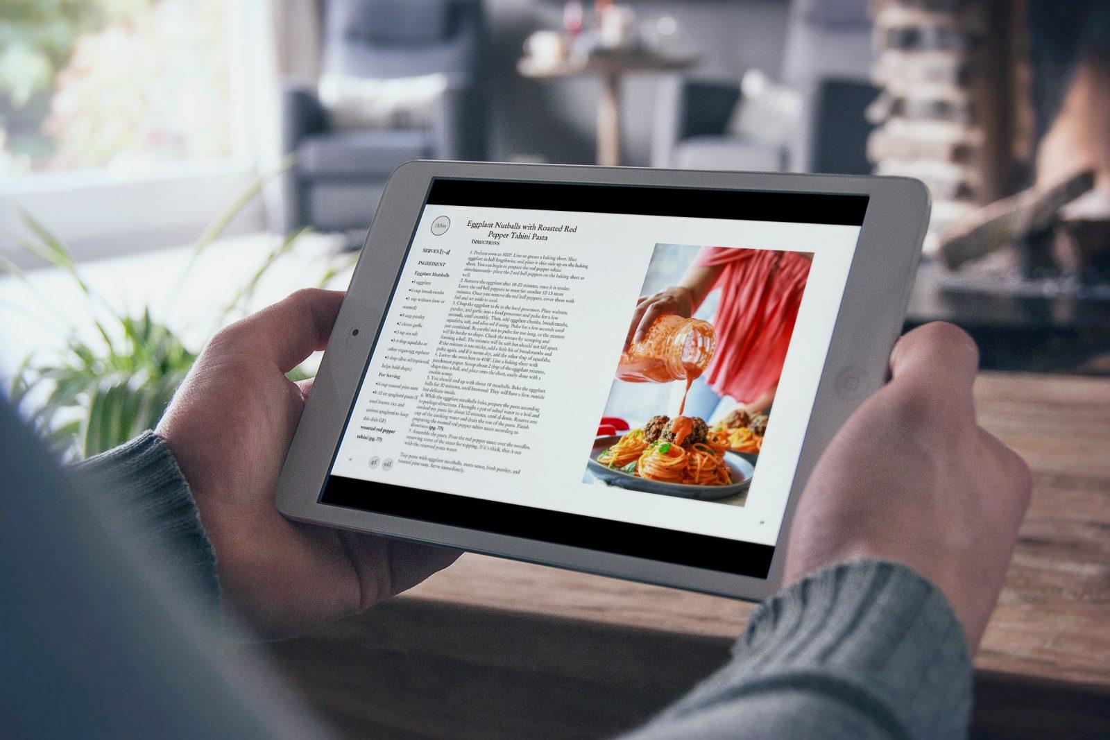 Vegan is Delicious on iPad.